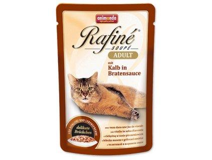 Animonda Rafine Soupe cat kaps. telecí v omáčce 100 g
