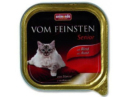 Animonda VomFeinsten cat van. Senior hovězí 100 g