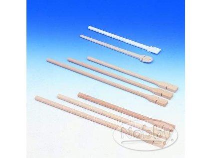 Bidýlko dřevěné Nobby 1,0 1,2 cm, 40 cm