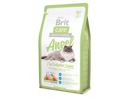 Brit Care Cat Angel I´m Delighted Senior 0,4 kg