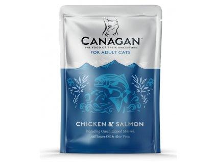 Canagan Cat kaps. Adult kuře a losos 85 g