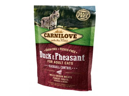 Carnilove Cat Adult Duck & Pheasant Grain Free 0,4 kg