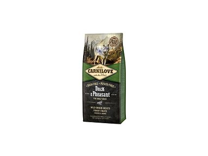 Carnilove Dog Adult Duck & Pheasant Grain Free 12 kg