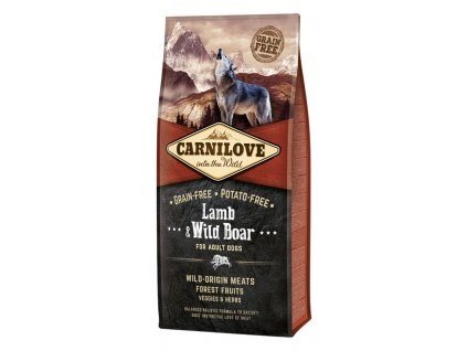 Carnilove Dog Adult Lamb & Wild Boar Grain Free 12 kg