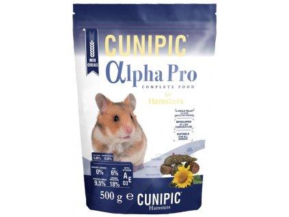 Cunipic Alpha Pro Hamster křeček 500 g