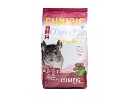 Cunipic Alpha Pro Chinchilla činčila 1,75 kg