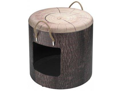 Domek cat D&D Wood L 40X42cm