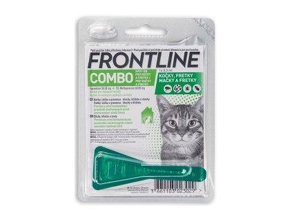 FRONTLINE COMBO SPOT ON CATS A.U.V. SOL 1 X 0,5 ML