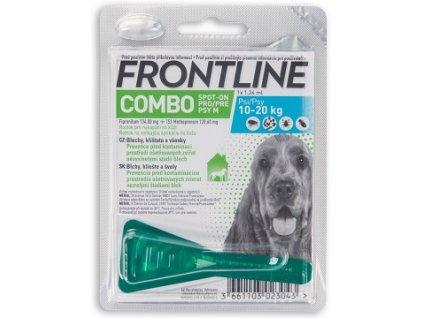 Frontline Combo spot on M pro psy 10 20 kg 1x 1,34 ml