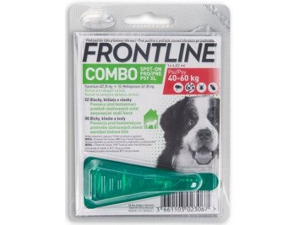 FRONTLINE COMBO SPOT ON DOG XL A.U.V. SOL 1 X 4,02 ML