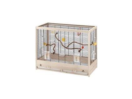 Klec pták s výb. dřevěná Giulietta 6, Ferplast 81 x 41 x 64 cm