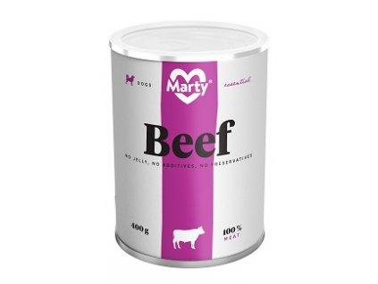 MARTY konz. pro psy hovězí 400 g