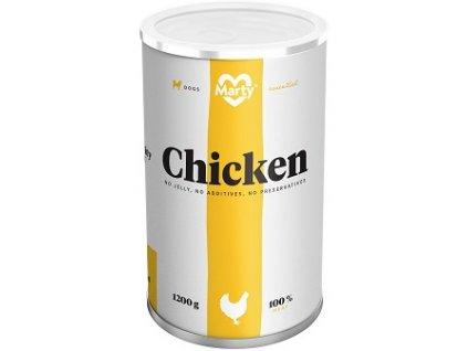 MARTY konz. pro psy kuře 1200 g