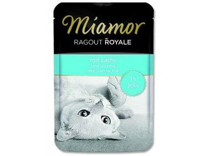 Miamor Ragout Royale cat kaps. losos 100 g
