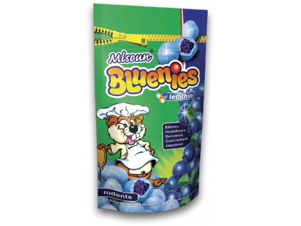 Mlsoun hlod. Dragee Bluenies borůvky 50 g