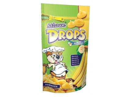 Mlsoun hlod. Drops banán 75 g
