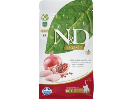 N&D PRIME Cat Kitten Chicken & Pomegranate 0,3 kg
