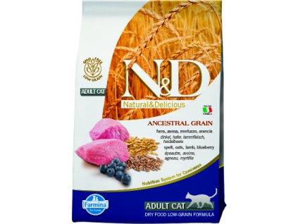 N&D Low Grain Cat Adult Lamb & Blueberry 0,3 kg