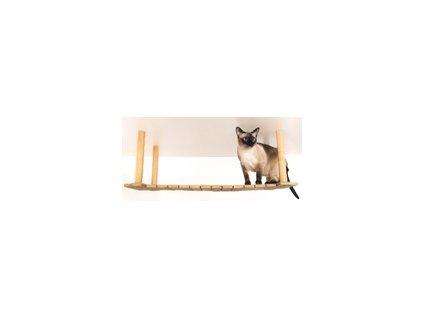 Nábytek Kočičí Král. Můstek do stropu 30x100x35cm