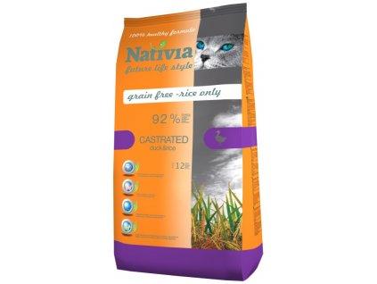 Nativia Cat Castrated 1,5 kg