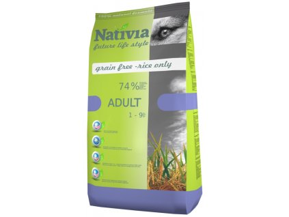 Nativia Adult Chicken & Rice 3 kg