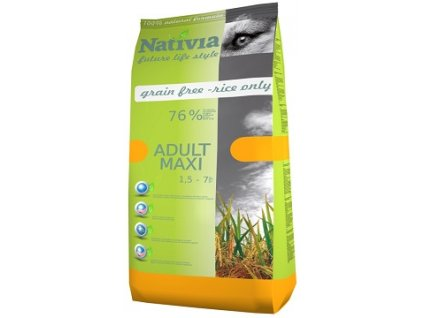 Nativia Dog Adult Maxi Chicken & Rice 15 kg