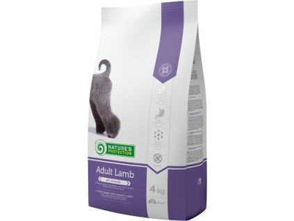 Nature´s Protection Dog Dry Adult Lamb 4 kg