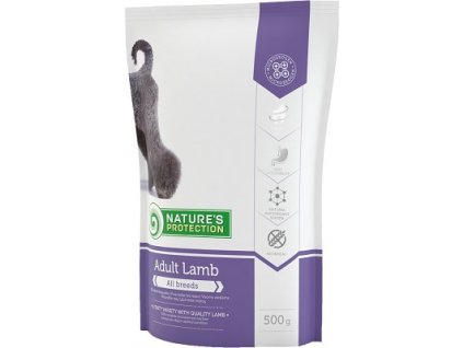 Nature´s Protection Dog Dry Adult Lamb 500 g