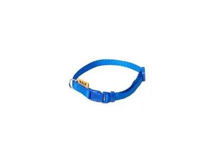 Obojek puppy nylon rozlišovací modrý B&F 1,00 x 20 35 cm