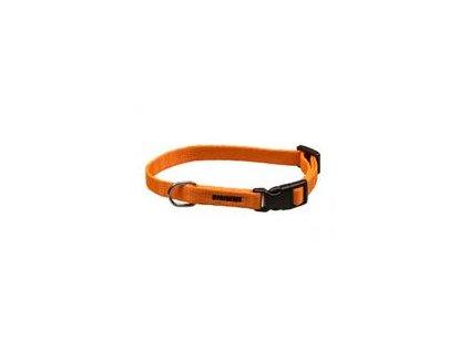 Obojek puppy nylon rozlišovací oranžový B&F 1,00 x 18 26 cm