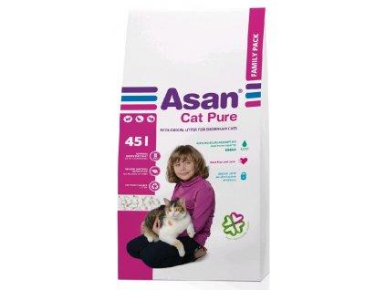 Podestýlka cat Asan Pure 45 l