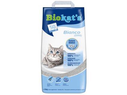 Podestýlka Cat Gimpet Biokat's Bianco Hygiene 10 kg