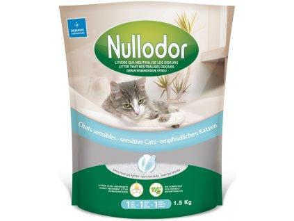 Podestýlka cat Nullodor citlivé kočky 1,5kg