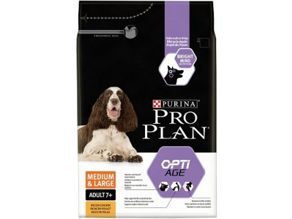 PRO PLAN Dog Adult 7+ Medium&Large 3 kg