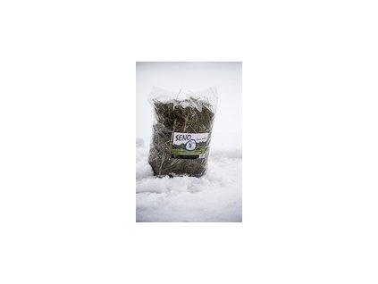 Ručně sušené seno 1kg