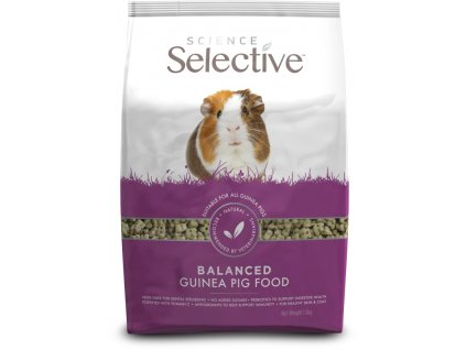 Supreme Science®Selective Guinea Pig morče 1,5 kg