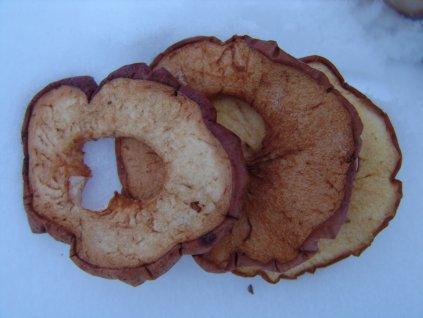 Sušená jablka 100g