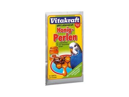 Vitakraft Honey Perls Sittich andulka med 20 g