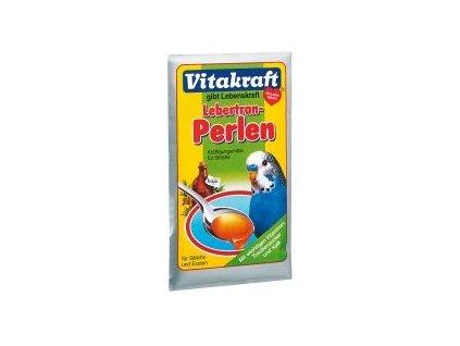 Vitakraft Lebertran Perlen andulka 20 g