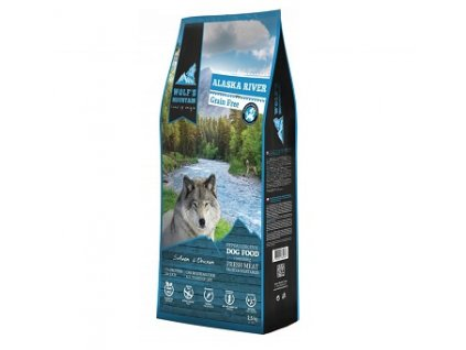 Wolf's Mountain Dog Alaska River Grain Free 2,5 kg