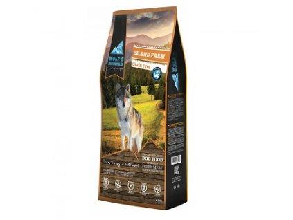 Wolf's Mountain Dog Island Farm Grain Free 2,5 kg