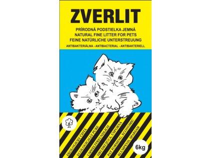 Podestýlka Cat Zverlit jemná modrá 6 kg