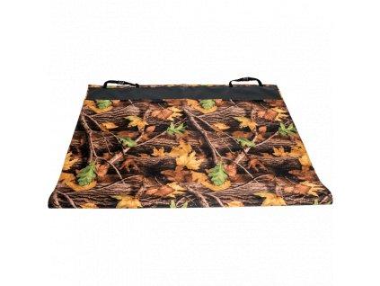 Autopotah do kufru Sychrov, nylon, podzimní listí 120 x 190 cm