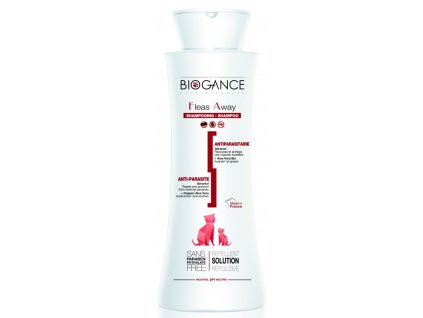 Biogance šampon Fleas away cat antiparazitní 250 ml