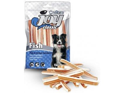 Calibra Joy Classic Fish & Chicken Sandwich 80 g