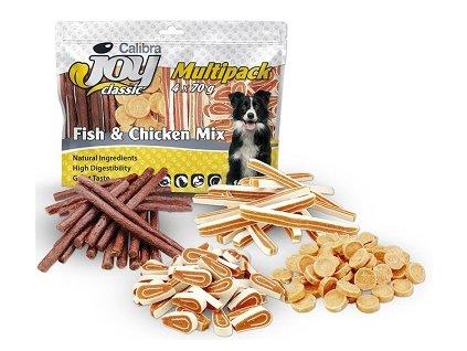Calibra Joy Multipack Fish & Chicken Mix 4 x 70 g