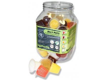 Komodo Jelly Pots kalíšky, mix příchutí dóza 60ks