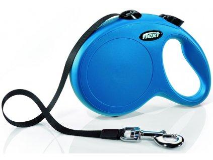 Flexi Classic NEW L pásek 5 m modré 50 kg