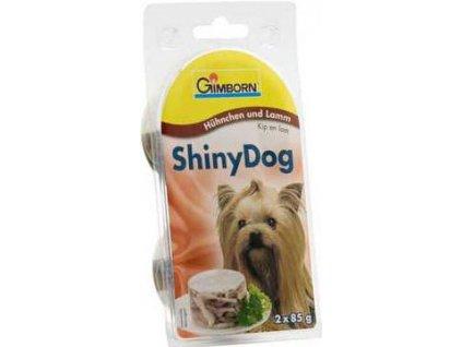 Gimborn Shiny dog konz. kuře + jehně 2 x 85 g