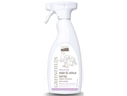 Greenfields Stain&odor spray odstraňovač skvrn 400 ml